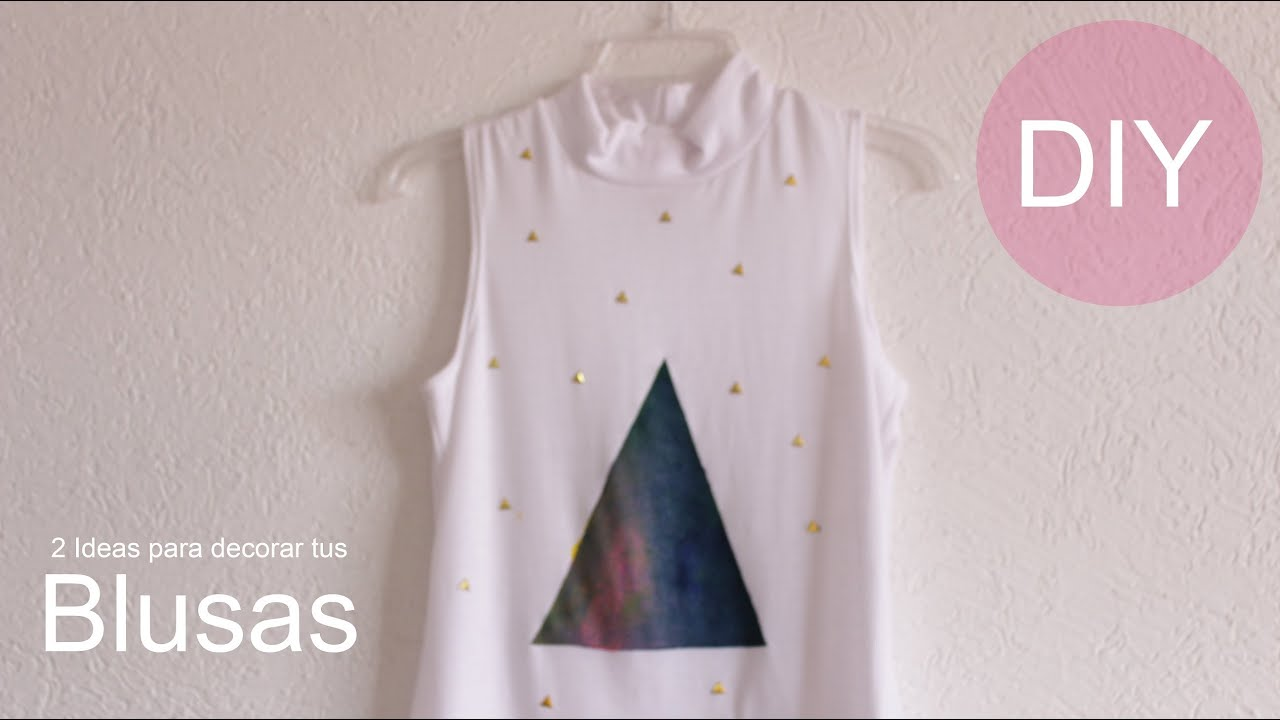 Ideas para decorar tus blusas tips de belleza for Como remodelar tu casa