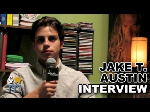 Jake T. Austin Interview On Set of
