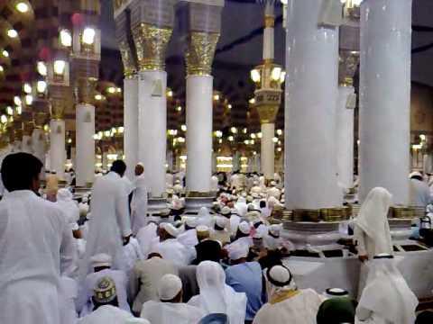 Azan-e-Fajr in Masjid-e-Nabvi ﺼﻟﻰﷲﻋﻟﻴﻪ ﻮﺴﻟﻣ