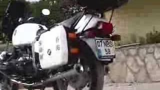super original police motorbike bmw R80 RT