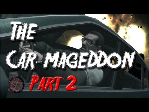 Grand Theft Auto IV: The Car-mageddon Part 2