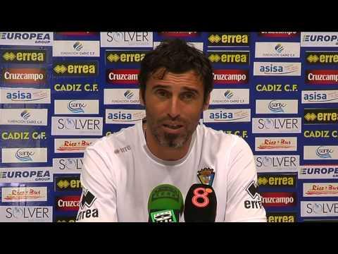 Fernando Niño en previa Sevilla C-Cádiz B (21-08-14)