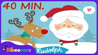 Christmas Songs for Kids   Rudolph the Red Nosed Reindeer   Reindeer Pokey   The Kiboomers