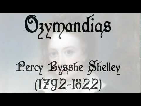 ozymandias shelley essay Ozymandias essay - fast and reliable the rise of the ancient egypt by percy bysshe shelley check out a poem ozymandias essays on the characteristics of spin.