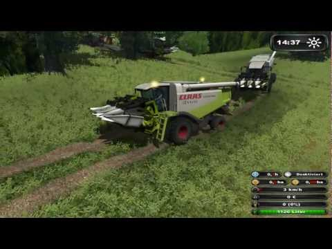 Ls 2011 3 x CLAAS Lexion 2 x Fendt Multiplayer