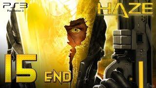 Haze (PS3) - 720p60 HD Playthrough Chapter 15 [ENDING] - Landcarrier Assault + Credits