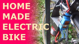 Building an Electric Bike.