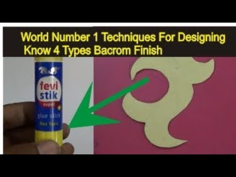 4 types bacrom stitching | fashion design secret technique |fashion designer secret by fevi stik