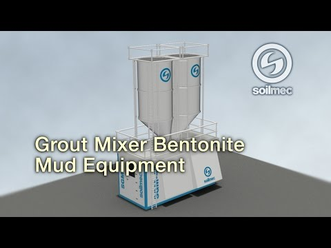 Soilmec SGM 45 Grout Mixer Bentonite mud equipment