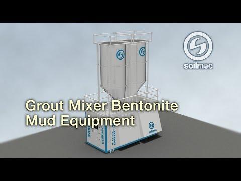Soilmec SGM 45 Grout Mixer Bentonite mud equipment