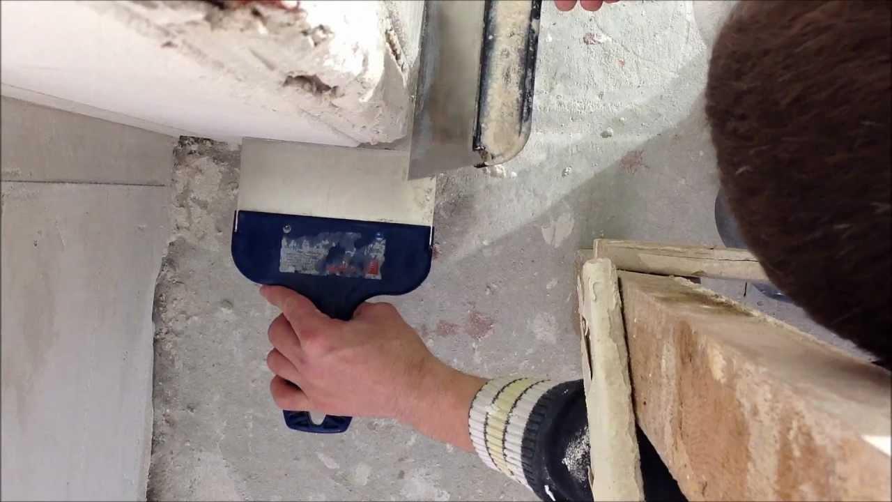 Как выровнять внутренние углы стен своими руками 45