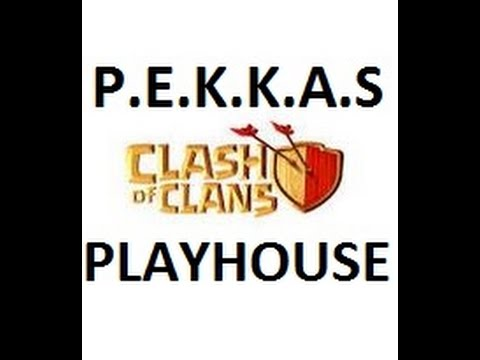 Clash of Clans [COC] | P.E.K.K.A.S PLAYHOUSE | 3 Stars Victory | 1080p HD