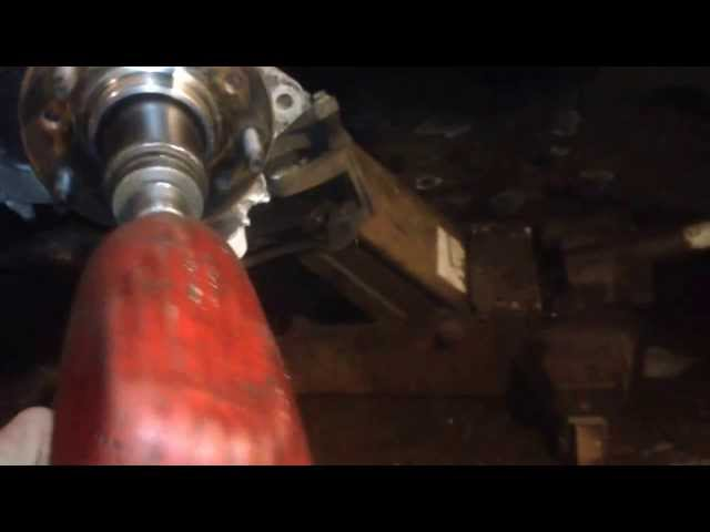 REPLACE FRONT WHEEL BEARING - YouTube