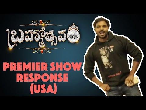 Brahmotsavam Premier Show Response USA