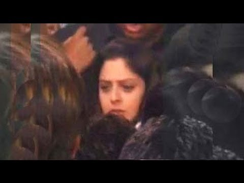 Congress Candidate Nagma Slaps Man Who Allegedly Groped Her At Public Meeting video