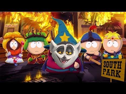 Król Julian gra w South Park: Kijek Prawdy