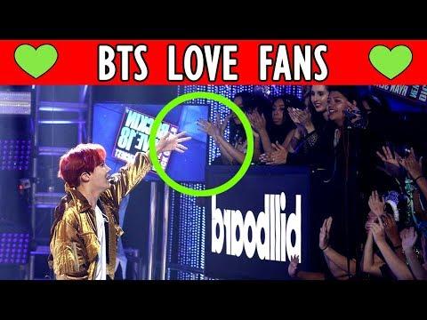 ❤ HOW BTS LOVES FANS | Bangtan Boys