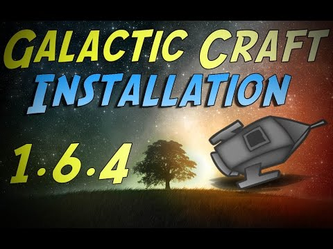 Minecraft 1.6.4 - How To Install The Galacticraft Mod! | Mars & Moon