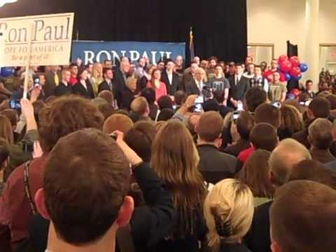Ron Paul Rally Springfield VA w/Rand Paul 2/28/12 Full