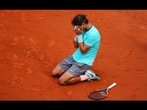Rafael Nadal vs. Novak Djokovic French Open 2014 Final