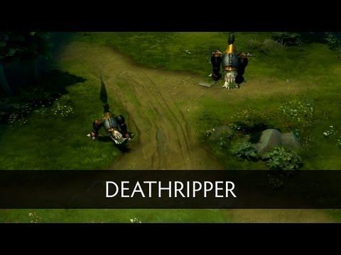 Dota 2 Courier - Deathripper