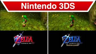 Nintendo 3DS - The Legend of Zelda: Ocarina of Time 3D Master Quest Trailer