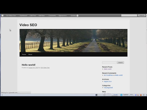 WordPress Video Tutorial: How To Install JW Player Plugin