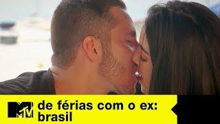 Matheus e Ana se pegam e falam sobre Gabriel   De Férias Com O Ex Brasil Ep. 08