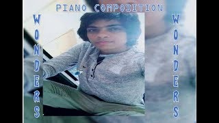 Wonder (Ed Sheeran Type Song) Piano Composition With On Screen Lyrics