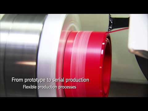 SKF Machined seals concept -  Production of machined seals