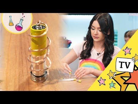Eksperyment Z Baterią - Fizyka Dla Dzieci!