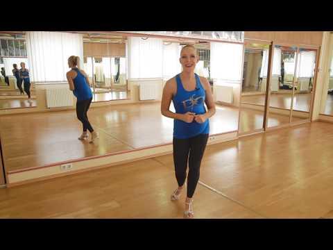Salsa alapok zene nélkül. Kismama tánc - Pregnant Dance - Baranyi Anett és Letti