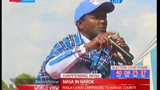 NASA brigade in Narok : Kalonzo's speech