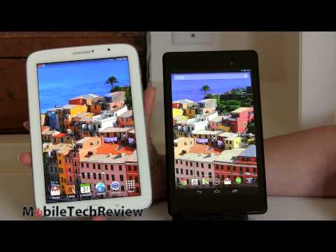 Google Nexus 7 (2013) vs. Samsung Galaxy Note 8.0 Comparison Smackdown