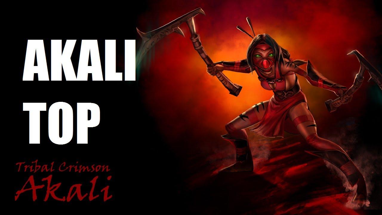 Wallpaper of Akali, League Of Legends, Video Game, Art
