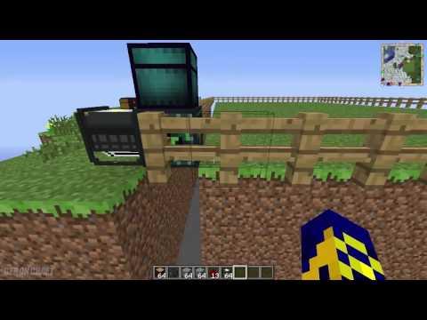 Ender Quarry из мода Extra Utilities - Обзор модов на Minecraft