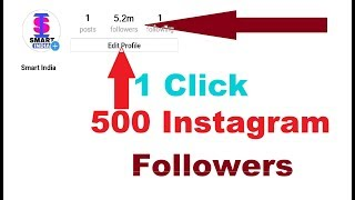 how to increase instagram followers in 1 minute