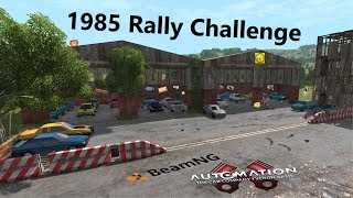 The 1985 Automation Rally Challenge Testing + Winner in BeamNG.Drive