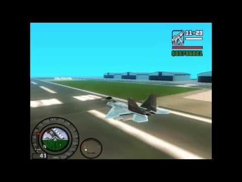 Como pilotar a Hydra no GTA San Andreas no Notebook e no Desktop - GamerS a Solt