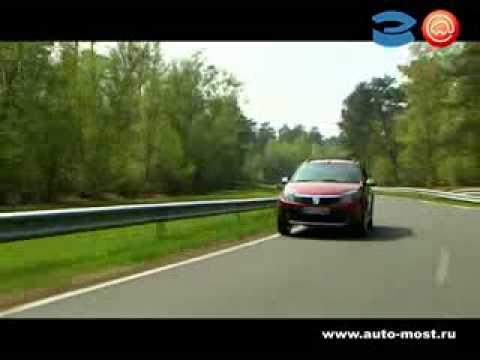Тест драйв Dacia (Renault) Logan Sandero