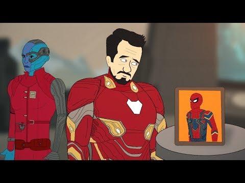 Мстители после Войны Бесконечности / Тони Старк бежит с Титана