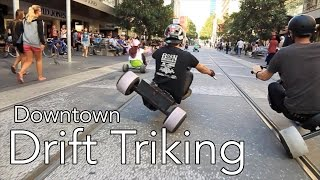 Trike Drifting in the City - SlideMelbourne RECUT