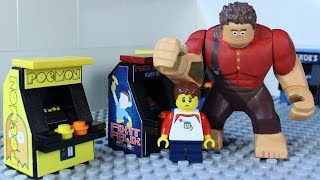 LEGO WRECK IT RALPH ARCADE
