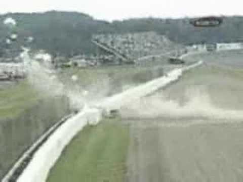 2000 NASCAR Jimmie Johnson crash Video
