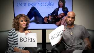 The Not So Newlywed Game With Boris Kodjoe & Nicole Ari Parker - HipHollywood.com