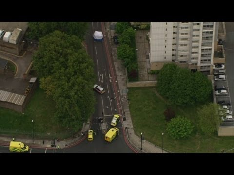 Woolwich attack: Man dies in suspected terror attack