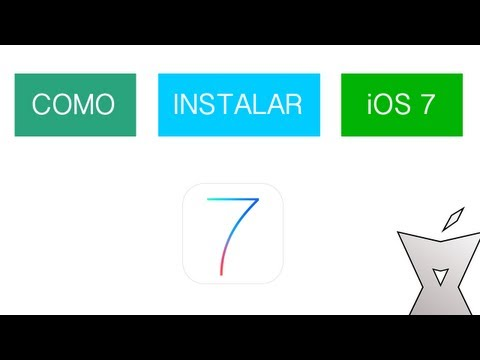 Tutorial   Como instalar iOS 7 en el iPhone. iPod Touch y iPad