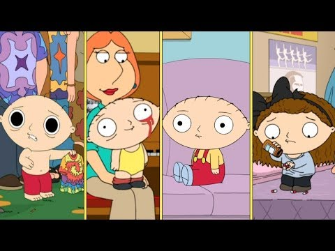 Stewie Griffin On Drugs & Alcohol Compilation - Family Guy