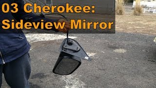 2003 Jeep Grand Cherokee: Replace Side Rearview Mirror
