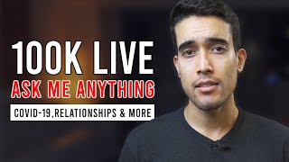 100K Live AMA | COVID-19, Relationships, & Medical School Stories, & More